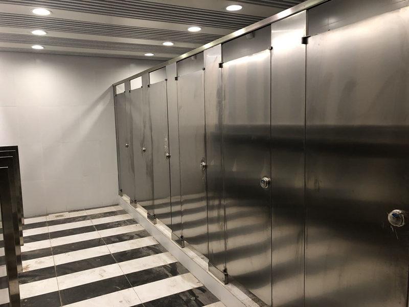 西安卫生间隔断板抗倍特优点