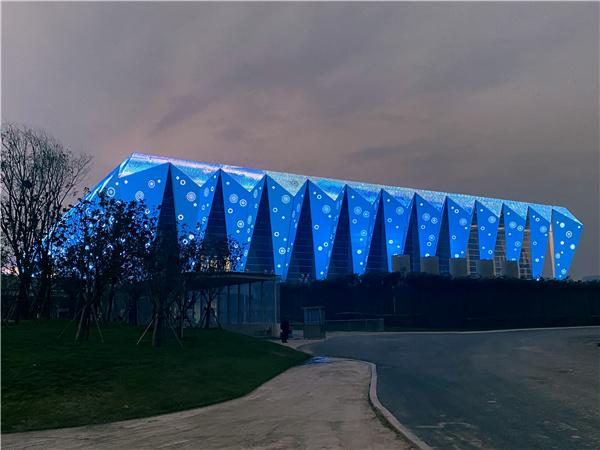 西安馆奥体中心全运会体育场